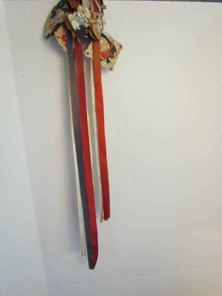Folk Art Ribbon Boy pin keep