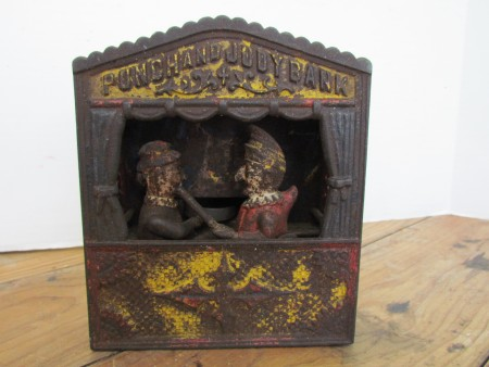Punch and Judy Mechanical Bank,