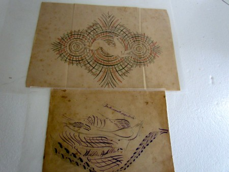 Two, Early 19th. Century Drawings