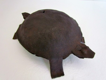 Rare, Wrought Iron Turtle, Late 17th. early 18th. c. / Spirit Animal
