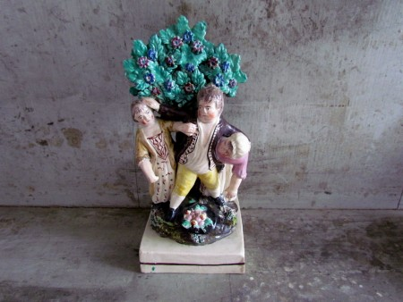 1810-1820 Staffordshire Group/The apple pickers