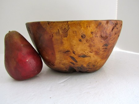 Late 18th./Early 19th. century Burled Maple Bowl