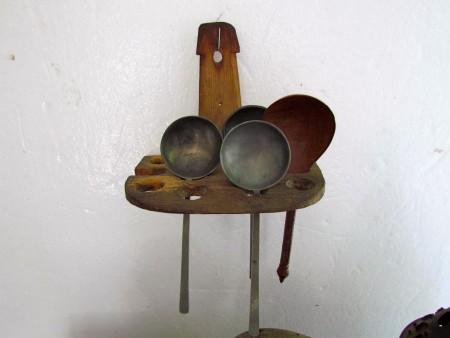 18th. Century Unusual Form, American Spoon Rack