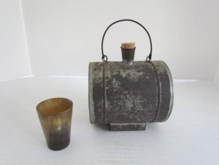 Tin Canteen circa 1840