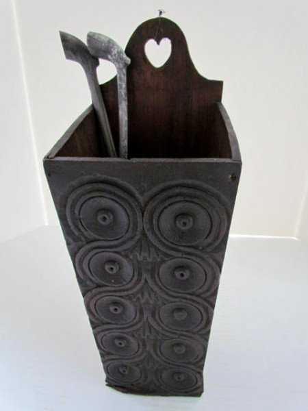 Early 18th. century Pipe Box/Candle Box