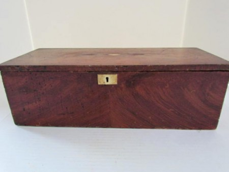 Beautiful Grain Painted Document Box