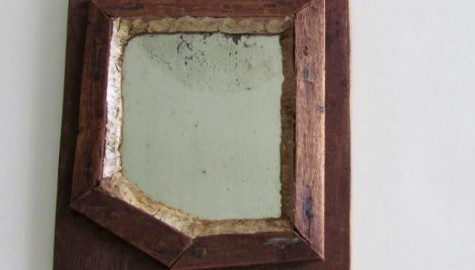 Early 19th. century Fragment Mirror