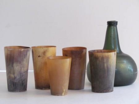 Five Horn Cups