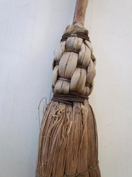 All Original 19th. century Corn Broom