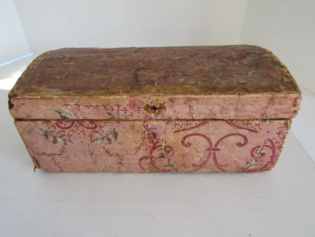 Beautiful Wall Paper Covered Box