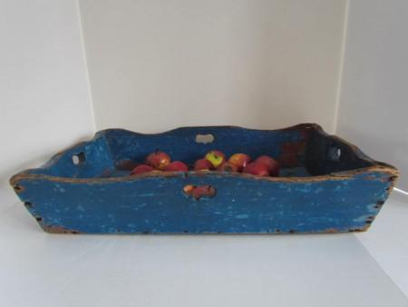 Wonderful Apple Tray in the BEST Blue Paint