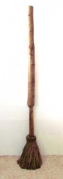 Early 19th. century Shaved Floor Broom