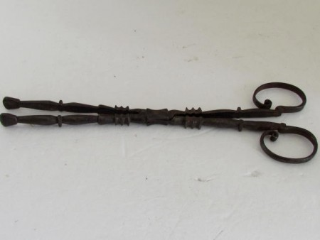 Late 17th./18th. century Ember Tongs