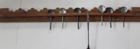 Large Hanging Utencil or Spoon Rack