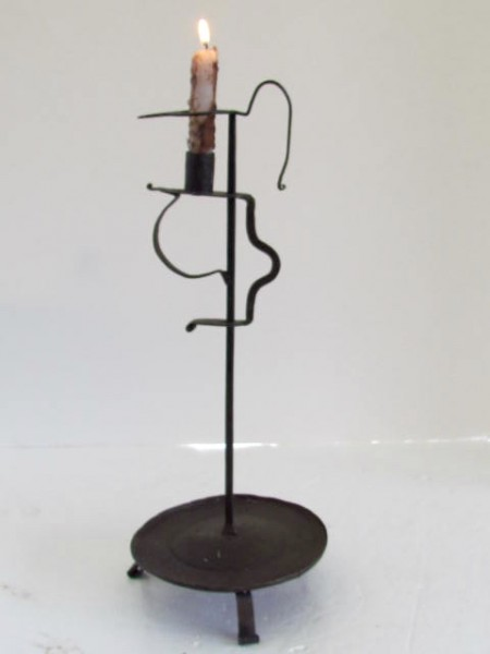 18th. century Table Top Lighting Stand