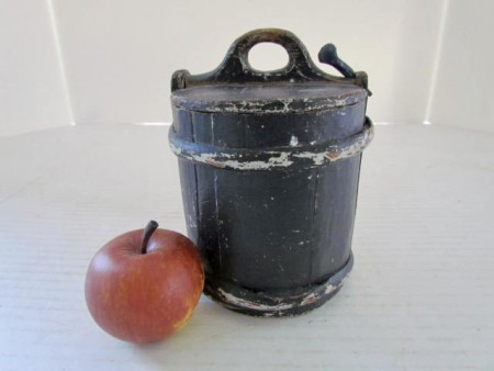 Early 19th. century American, Small, Staved Butter Tub
