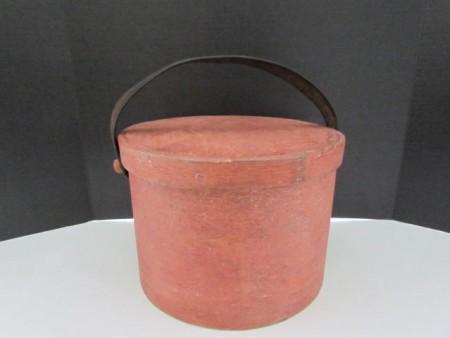 19th. century Bail Handled Pantry Box