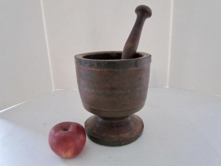 Extremely Large, 18th. century Mortar and Pestle