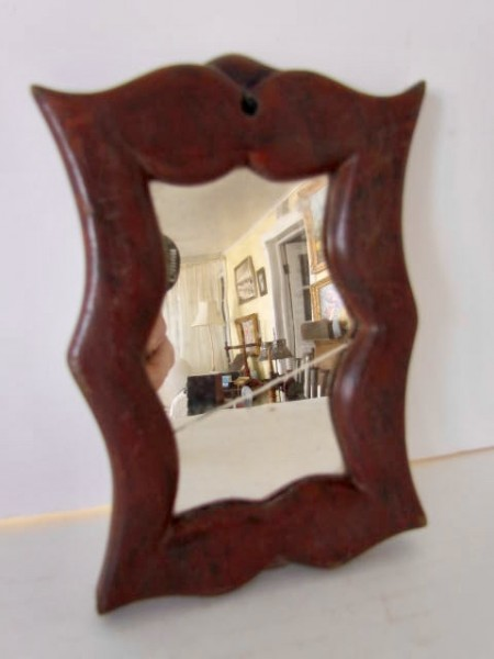 Early 19th. century Painted Mirror