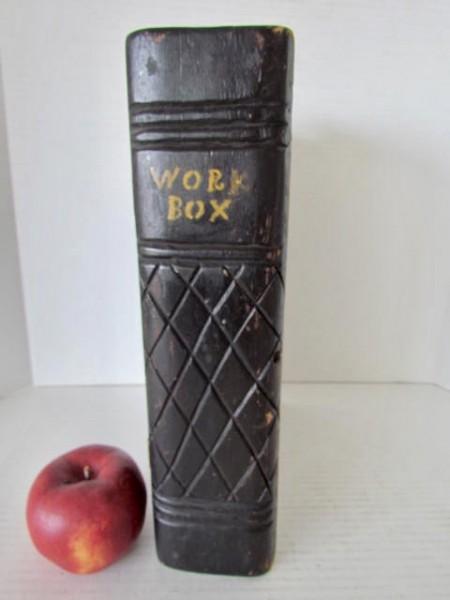 19th. century, Large Book Box