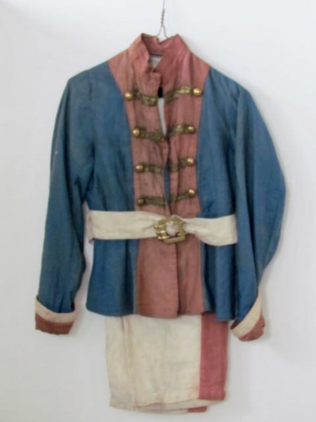 EARLY 1900 PATRIOTIC CHILD'S PARADE SUIT