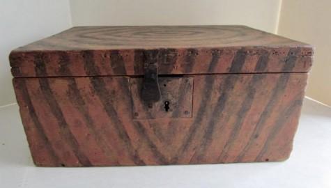 Original Painted, Maine Document Box