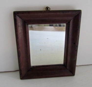 Early 19th. century Painted Wall Mirror