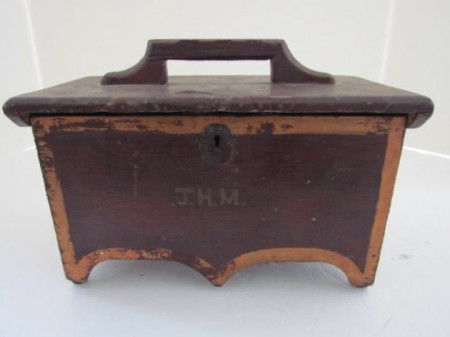 Mini Chest or Document Box, early 19th. century