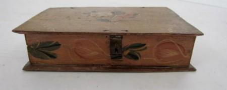 Pa. Dutch Decorated Spice Box