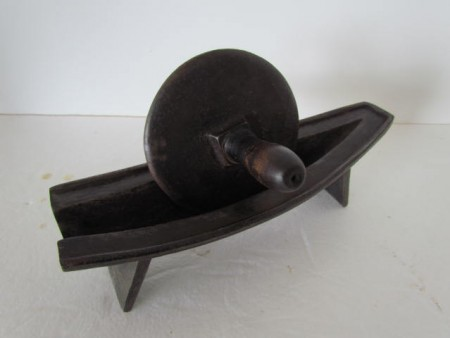 Early to Mid 19th. century iron Herb Roller