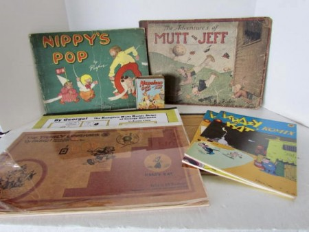 Circa 1920's Absolute Vintage Comics, The Adventures of Mutt and Jeff, Nippy's Pop