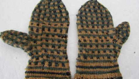 19th. century Adorable Children's Mittens/M. Finkel and Daughter