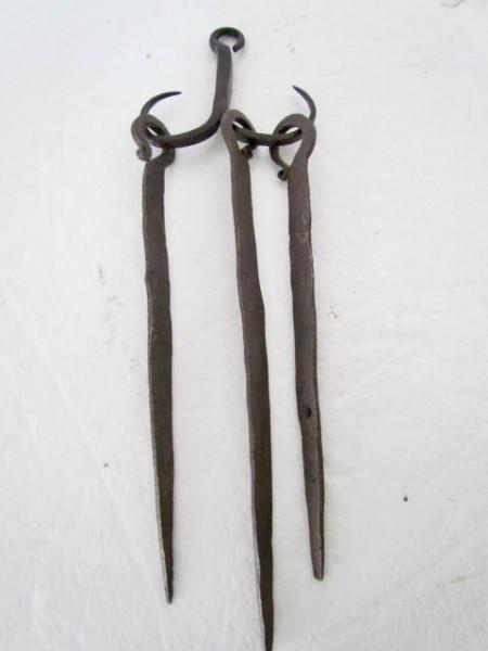 19th. century, Skewer Set
