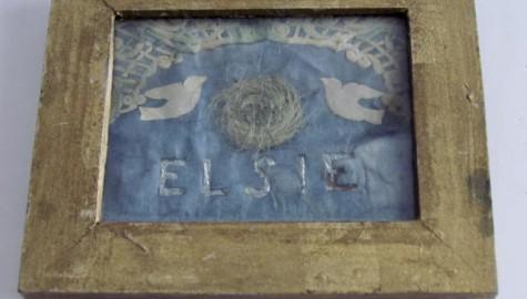 Folk Art Hair Memorial, Elsie
