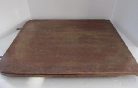 19th. century Copper covered Drain Board