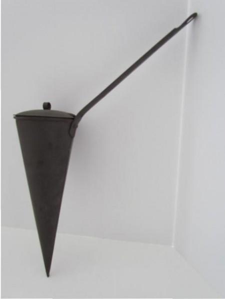18th. century Tin Ale Warmer
