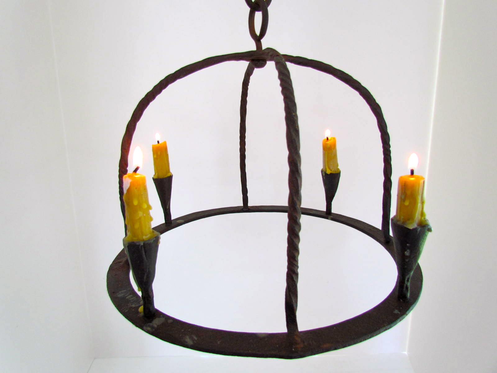antique iron chandelier – Wrought Iron Candle Chandelier
