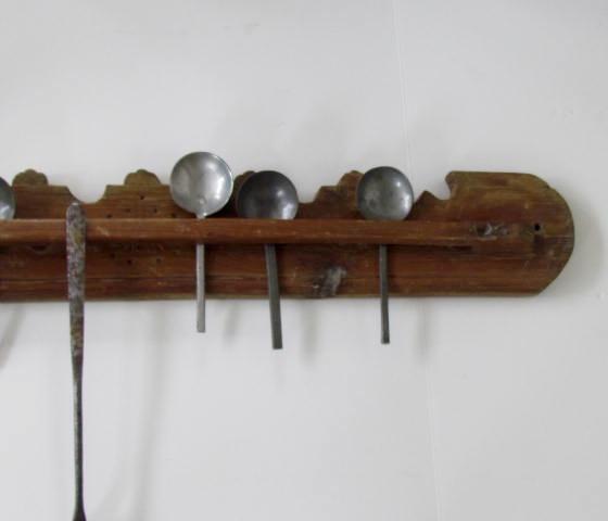 Pine Spoon Rack Art Antiques Michigan