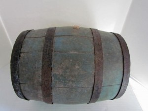 18th. century_painted_keg