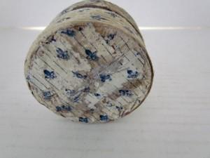 19th. century_wallpapered box