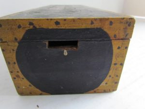 paint decorated box_with dots