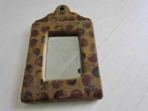 polka dot_painted_mirror