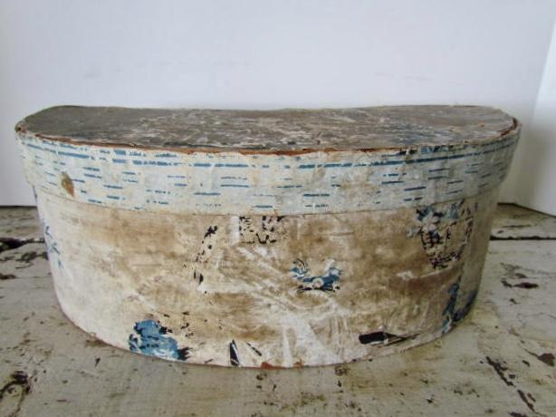 wallpapered box