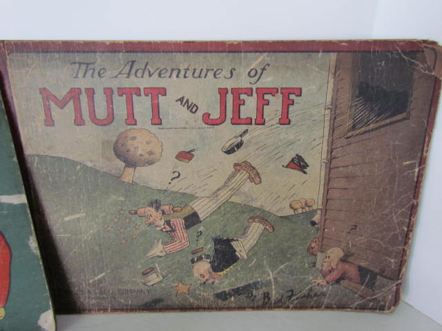 Circa 1920's_ Mutt and Jeff