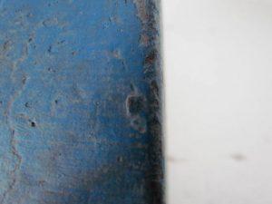 original blue paint