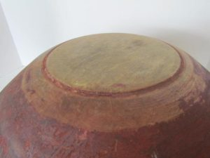 footed_dough bowl