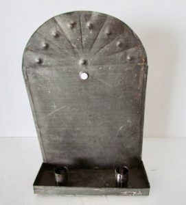 antique_tin wall sconce