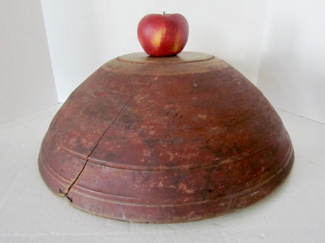 19th. century_dough bowl