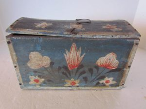 American_painted_document box