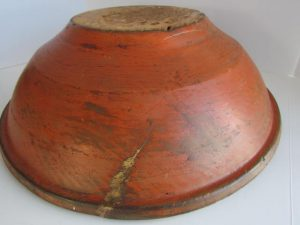painted_18th. century_dough bowl